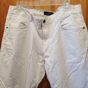 Zara Mens White Jeans 36